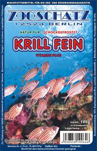 Krill fein 100g Frostfutter