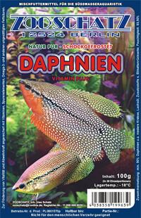 Daphnien (Wasserflöhe) 100g Frostfutter