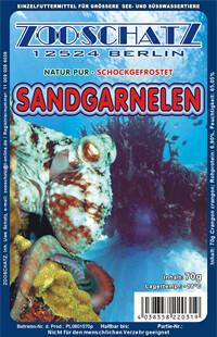 Sandgarnelen (im Ganzen) gebrüht 100g Frostfutter