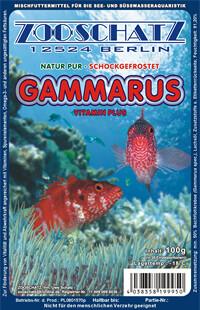 Gammarus (Bachflohkrebse) 100g Frostfutter