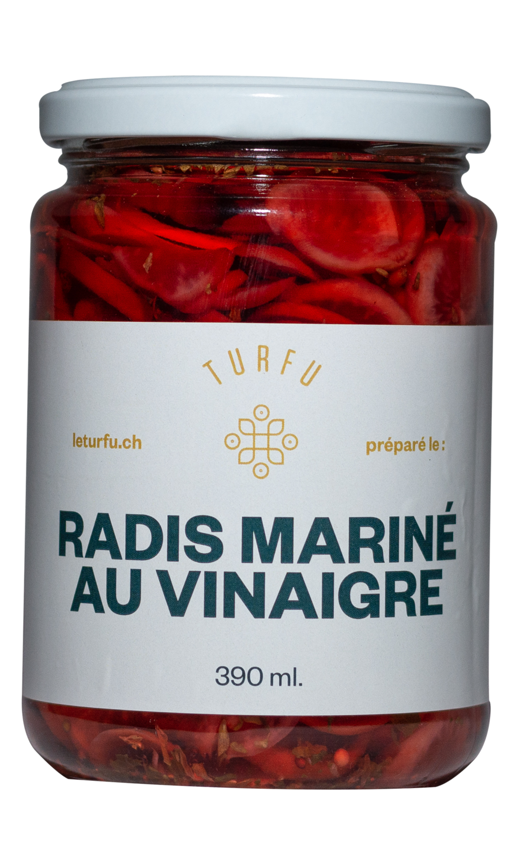 Radis mariné au vinaigre