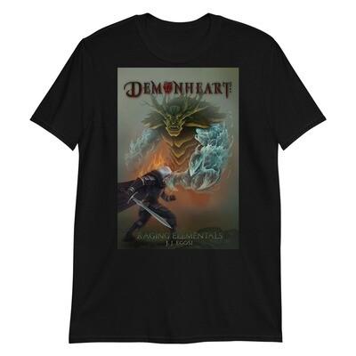 Demonheart: Raging Elementals T-Shirt (Unisex)