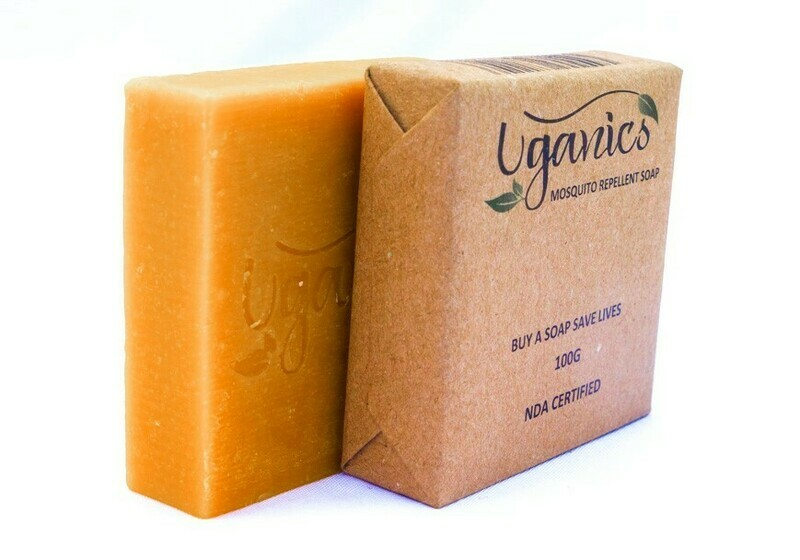 Uganics Repellents Community Bar Soap
