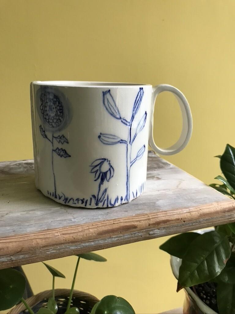 Summer Floral Mug