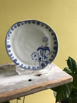 Floral Tea Plate