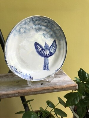'Into the Clouds' Plate