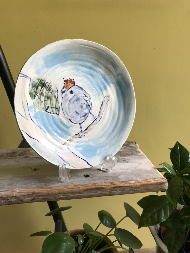 'I Spy a Leaf' Plate
