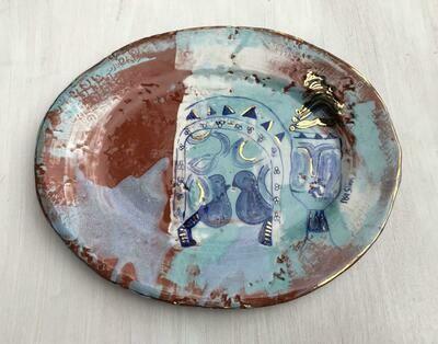 'Enki God' Charger Plate
