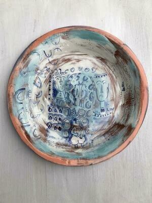 'Enki God' Large Plate