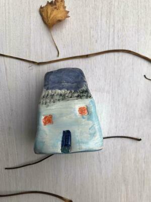 Blue Little Cottage