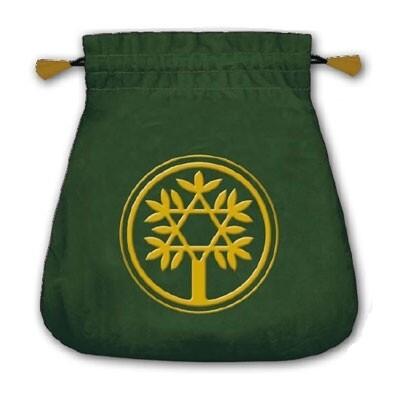 Мешочек Кельтское Дерево для карт таро (бархат)
