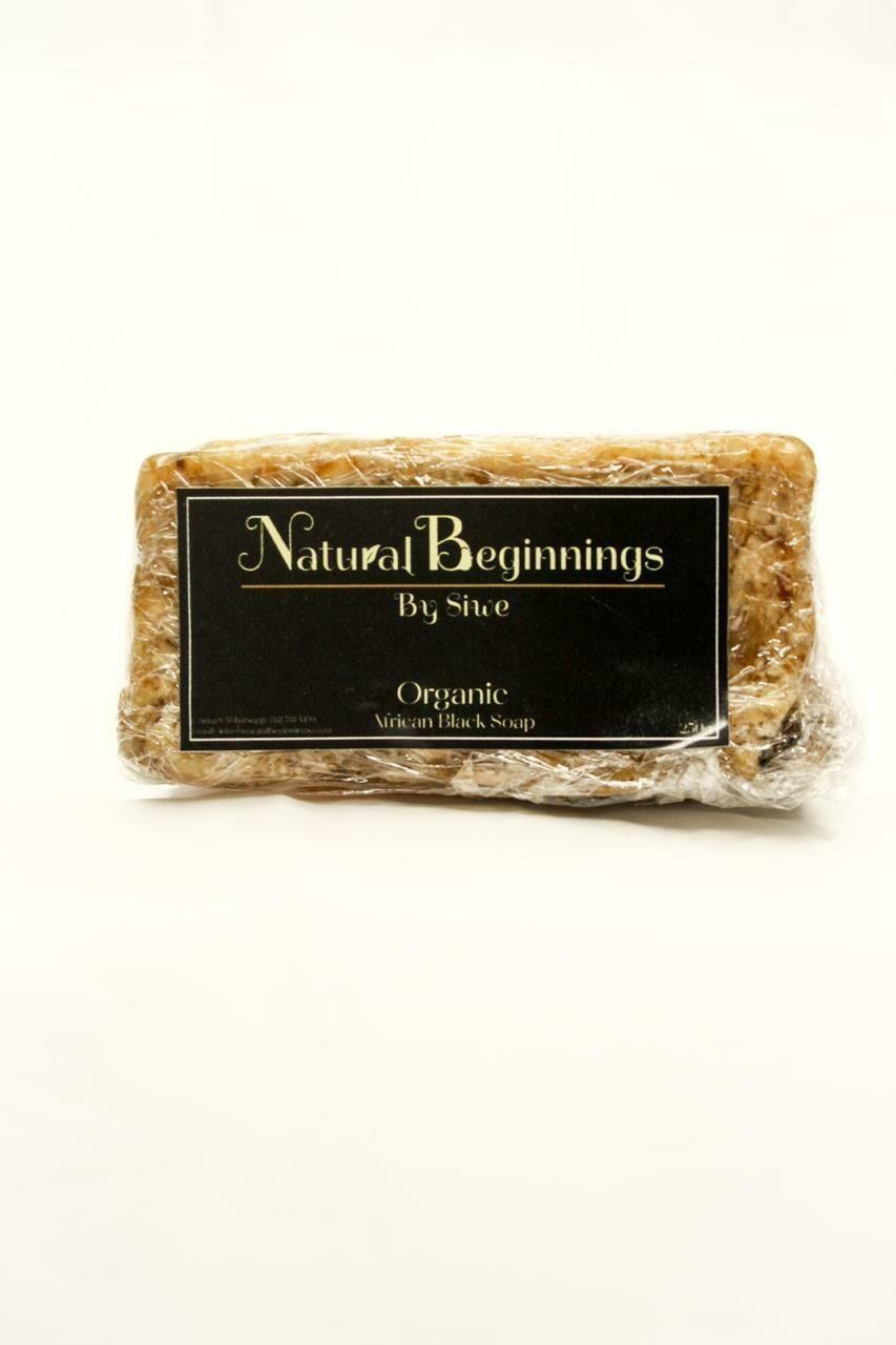 Organic Black Soap