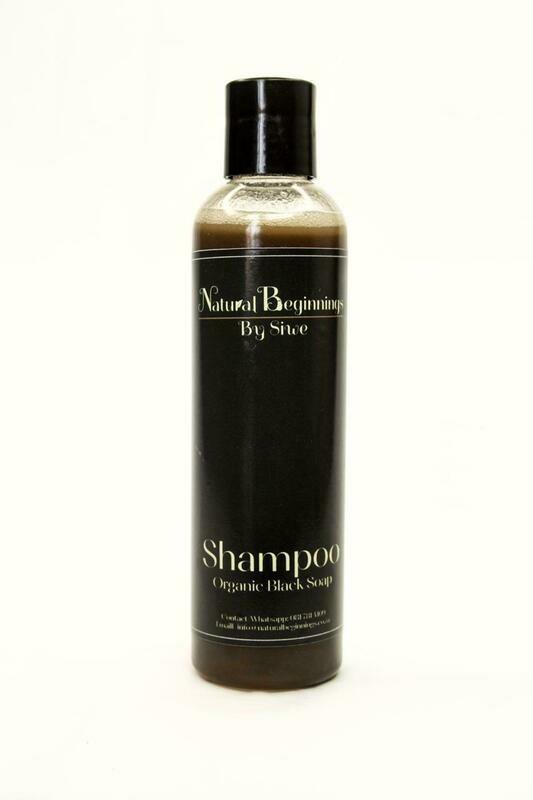 Organic Black Soap Shampoo
