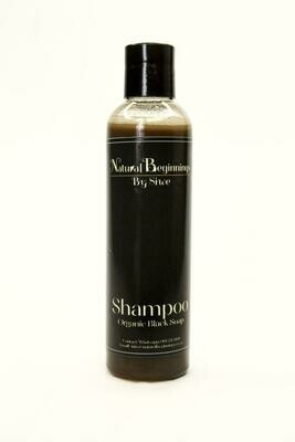 Organic Black Soap Shampoo