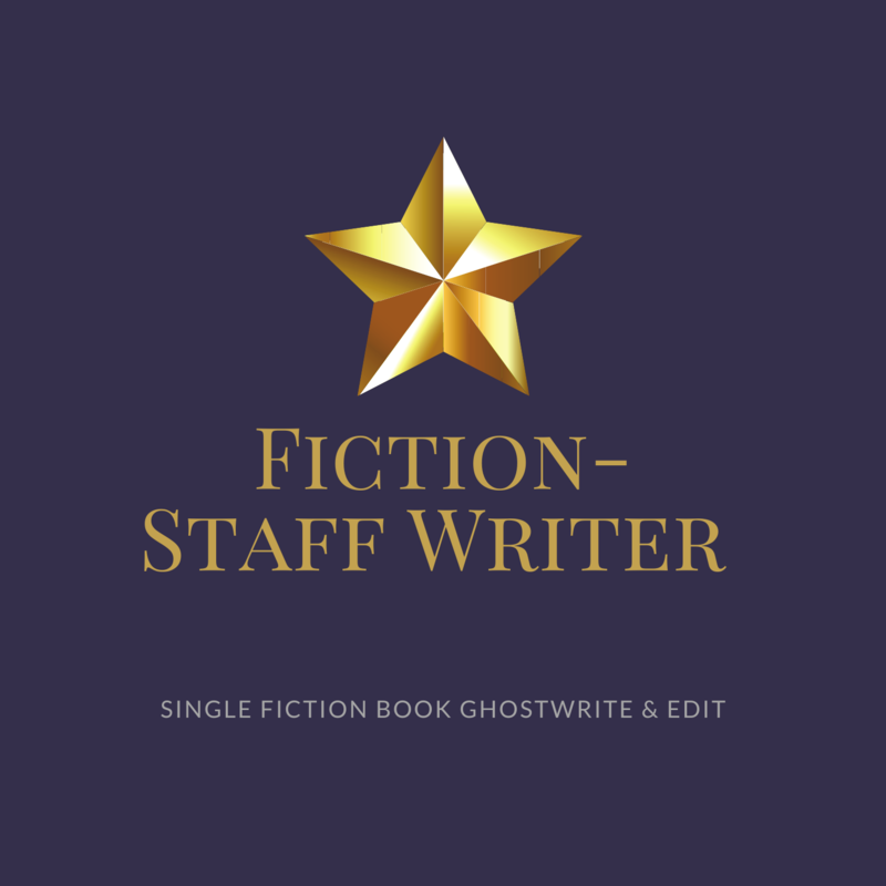 Fiction Ghostwriting- Staff Ghostwriter