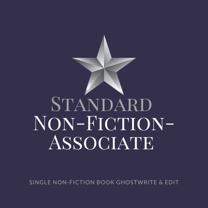 Standard Non-Fiction Ghostwriting- Associate Ghostwriter
