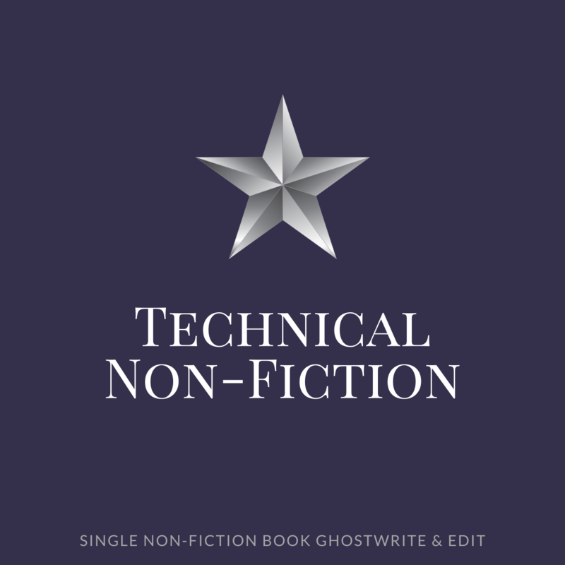 Technical Non-Fiction Ghostwriting-