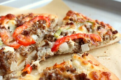 Philly Cheese-steak Pizza