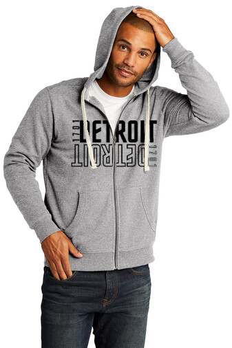 DETROIT 2 Zip Hoodie Sweatshirt