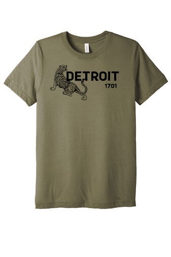 DETROIT 1701 Unisex Triblend T-shirt