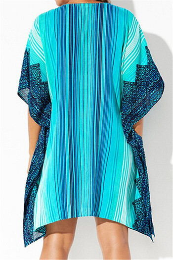 V-neck stylish beach cover-up