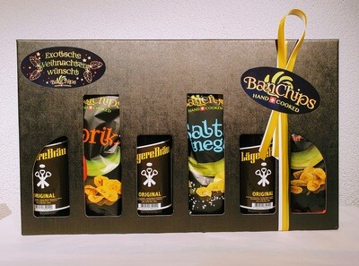Geschenk Box BanChips & Bier