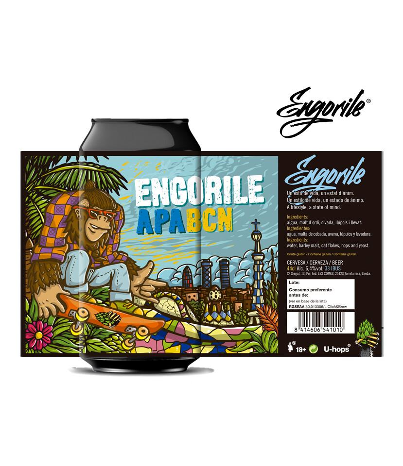 ENGORILE APA BCN LATA 44 CL