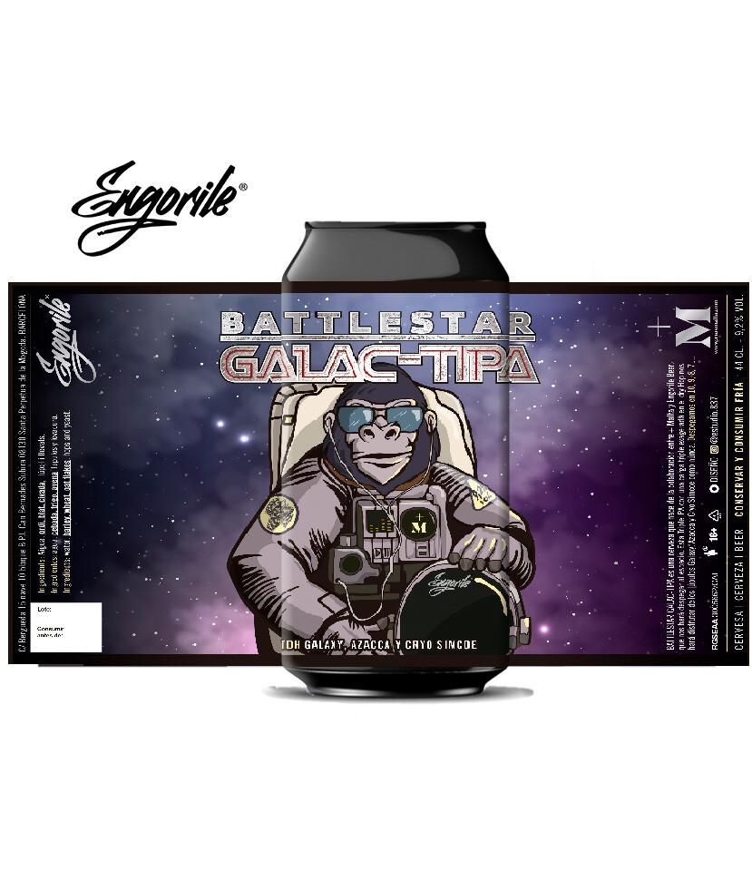 Battlestar Galac-Tipa Lata 44 cl
