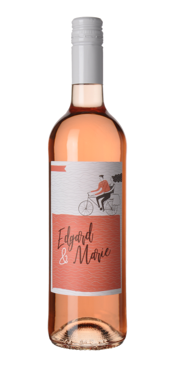 Edgard & Marie rosé wijn