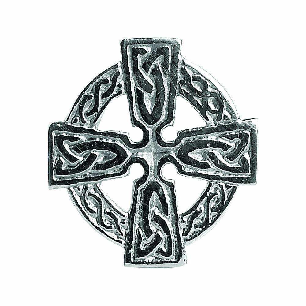 Sterling Silver Celtic Cross Tie Tac