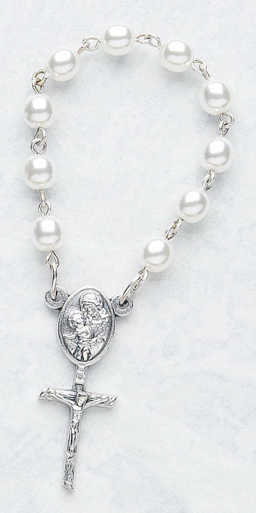 One Decade Rosary- Pearl
