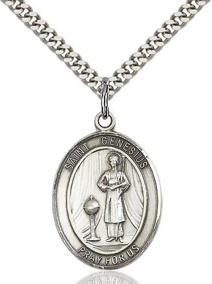 St. Genesius of Rome Pendant