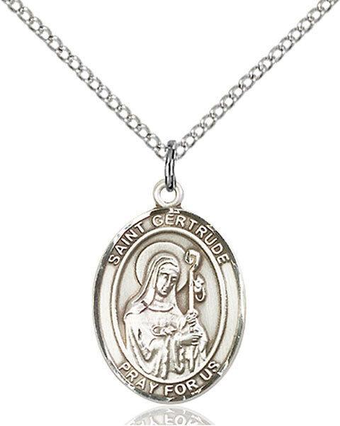 St. Gertrude of Nivelles Pendant