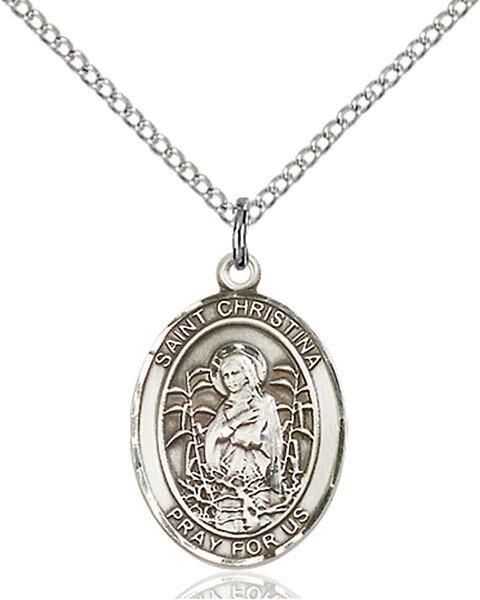 St. Christina the Astonishing Pendant