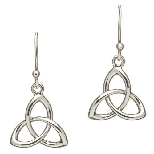 Sterling Silver Celtic Trinty Knot Earrings