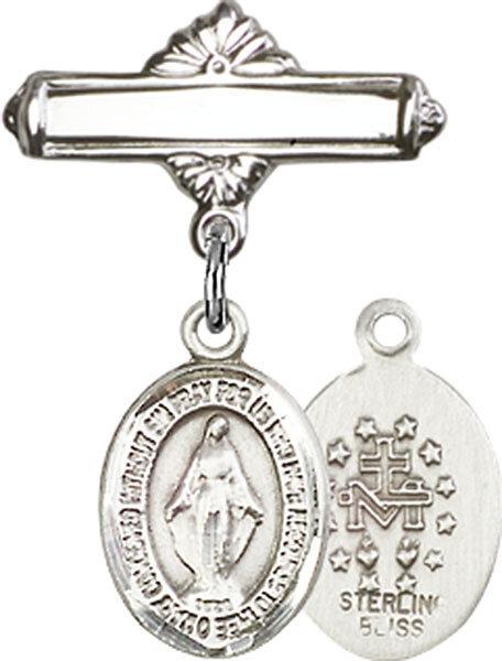 Miraculous Baby Badge Pin