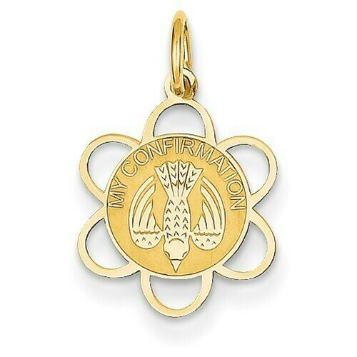 14kt. Gold My Confirmation Charm