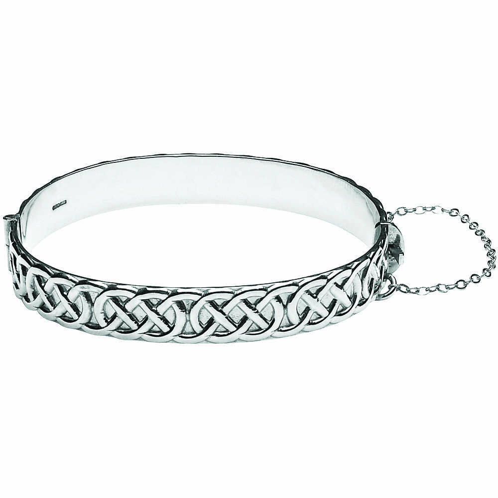 Sterling Silver Celtic Rope Bangle