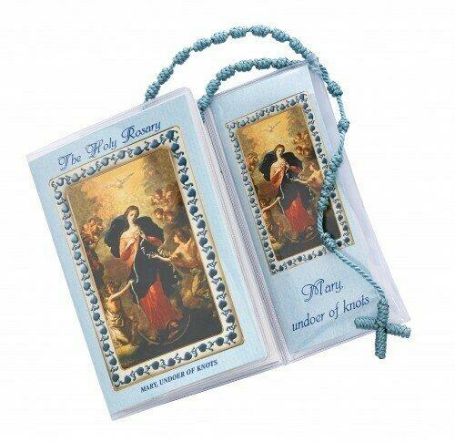 Mary, Undoer of Knots Prayer and Corded Rosary