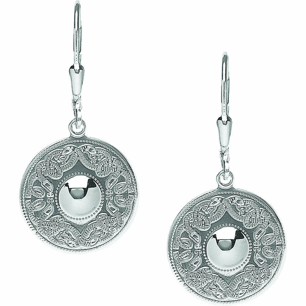 Sterling Silver Original Celtic Warrior® Earrings- Small