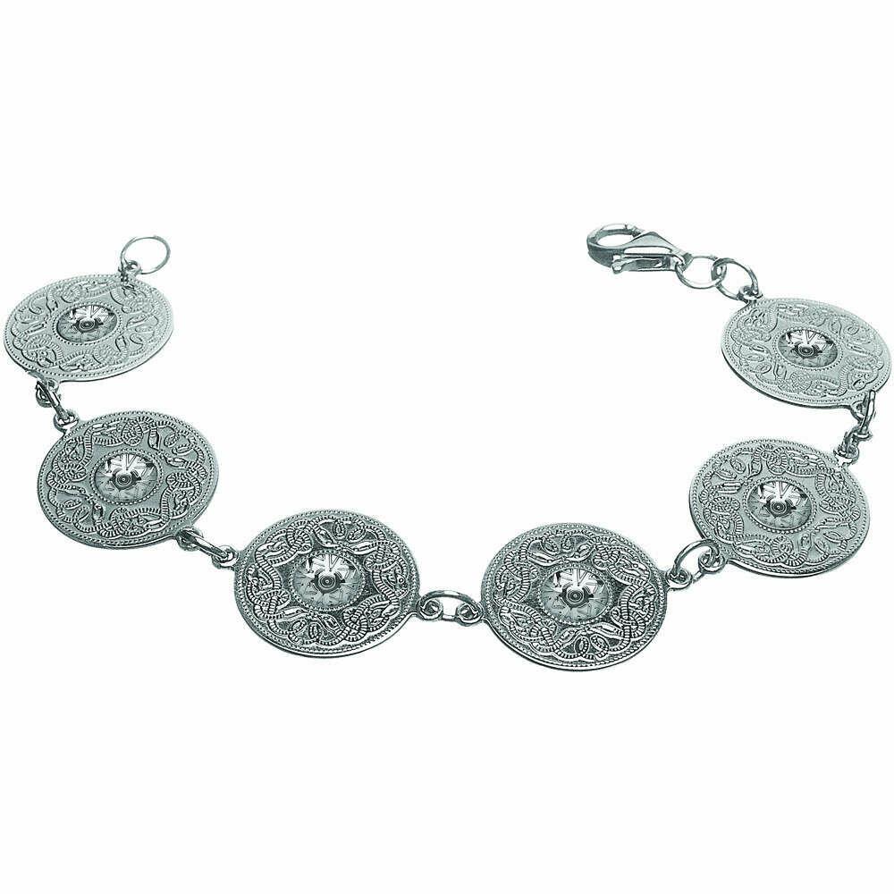 Sterling Silver Original Celtic Warrior® Bracelet- Large