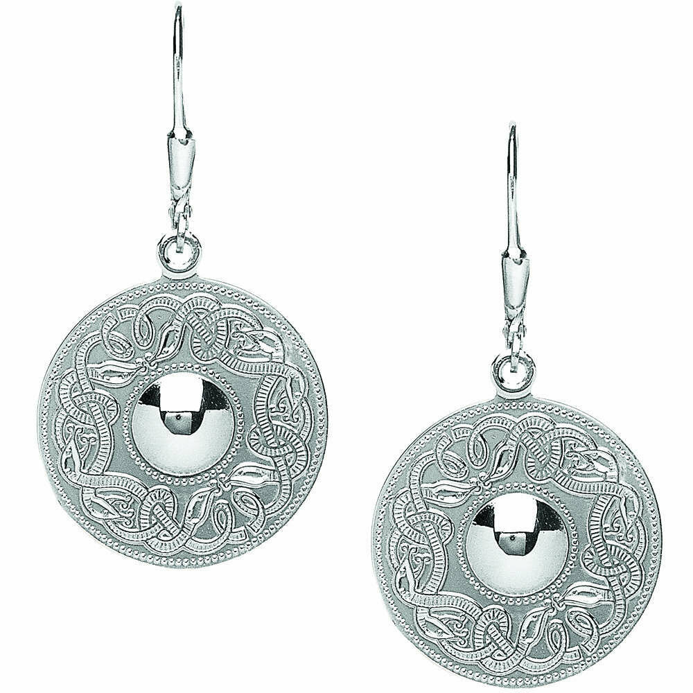 Sterling Silver Original Celtic Warrior® Earrings- Large