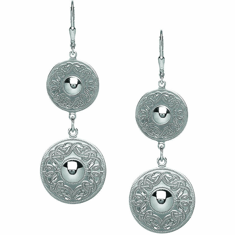 Sterling Silver Orignal Celtic Warrior® Drop Earrings