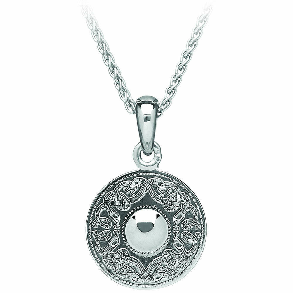 "Sterling Silver Original Celtic Warrior® Pendant- Medium & 18"" Sterling Silver Chain"
