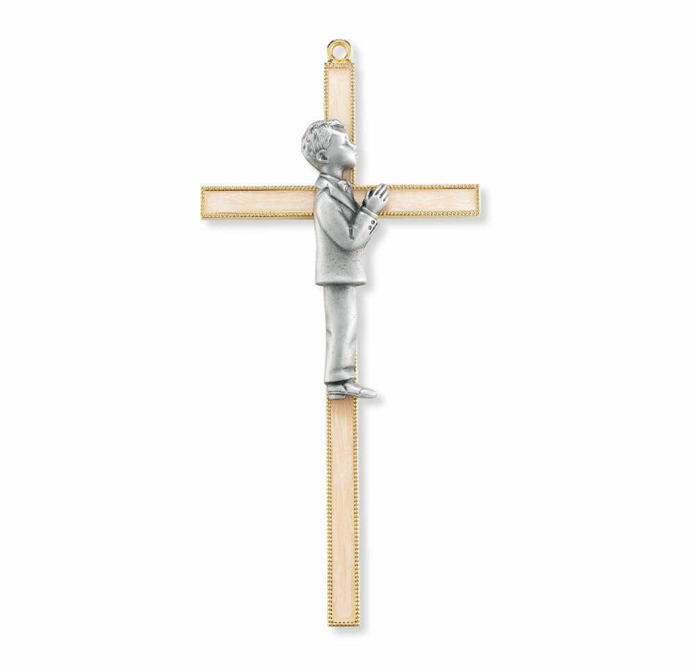 "7"" Communion Boy Cross"