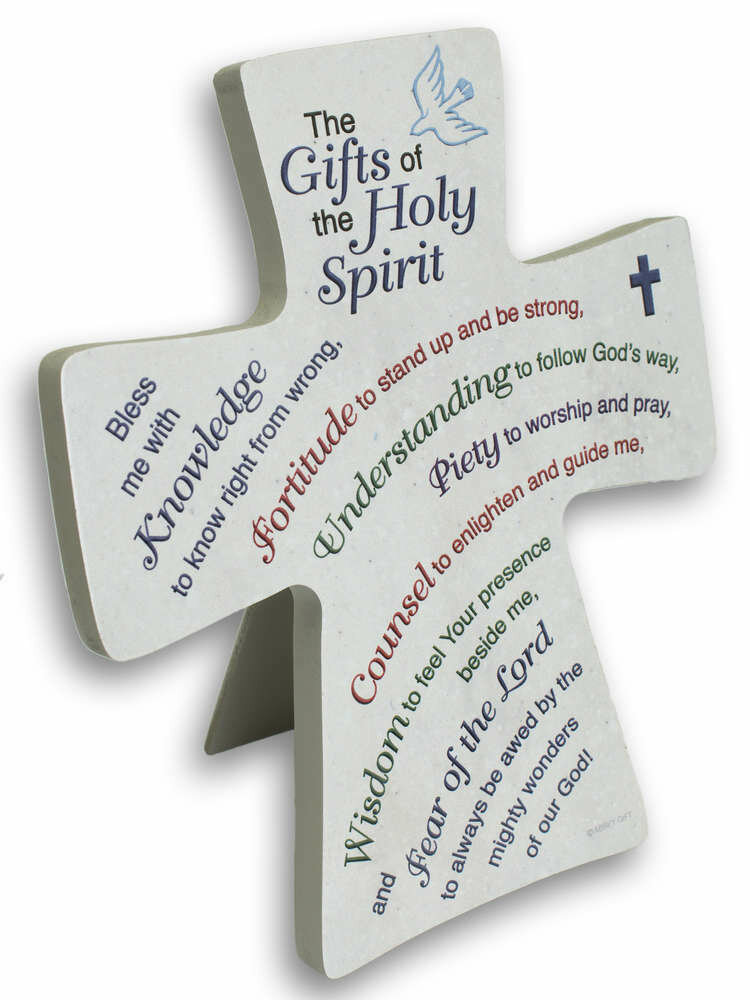 """Gifts of the Holy Spirit"" Cross"