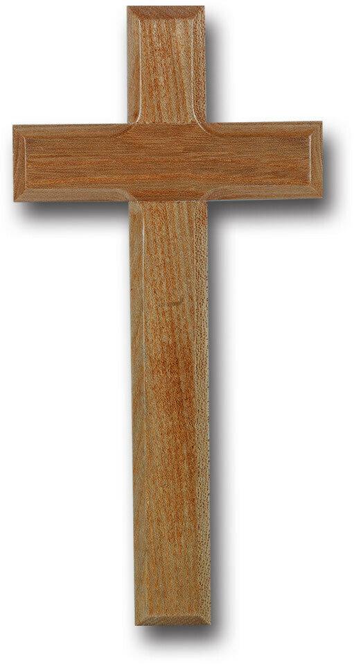 "10"" Oak Cross with Beveled Edges"