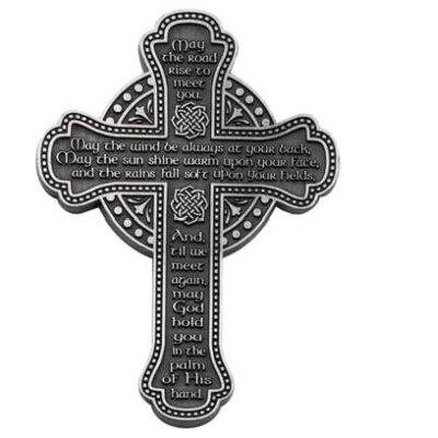 "5.5"" Irish Blessing Message Wall Cross"