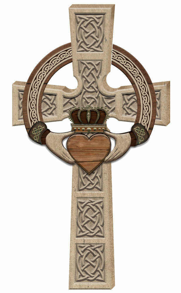Claddagh Wall Cross