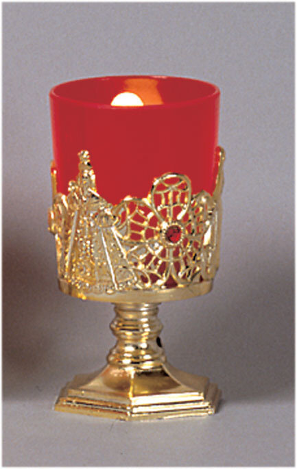 """4 1/4"""" Electric Votive Stand and Lamp"""